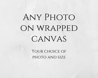 ANY PHOTO!!! Choose any photo in my gallery! Gallery wrapped canvas, fine art Paris photography, Eiffel Tower Paris