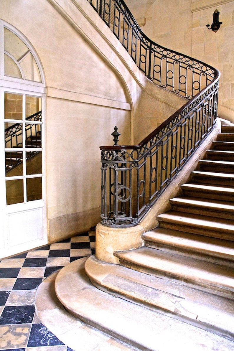 Place des Vosges staircase photo stairs fine art paris image 0
