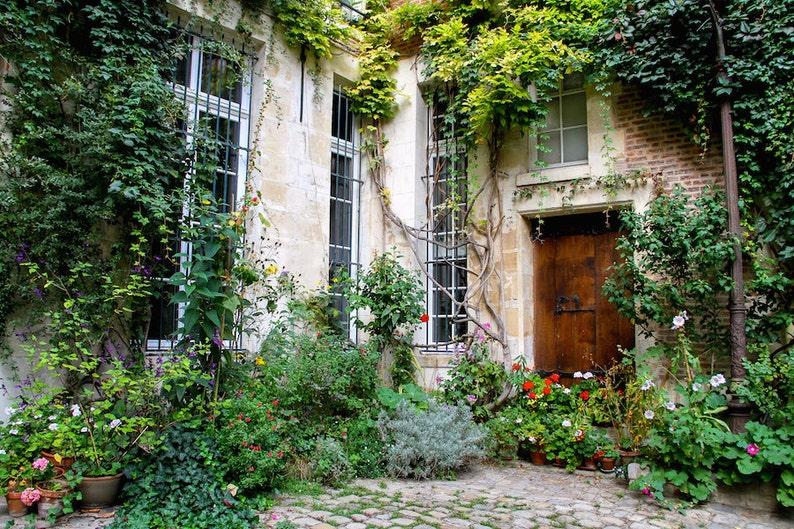 Cour de Rohan fine art Paris photography charming picture image 0
