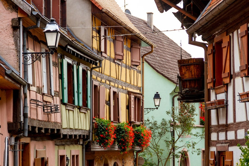 Colorful Alsace photo fine art paris photography France image 0