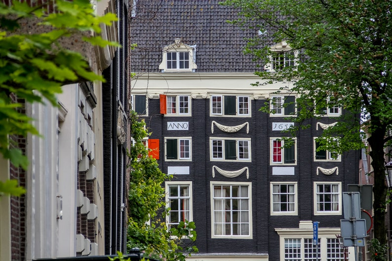Amsterdam façade photo fine art Netherlands photography by image 0