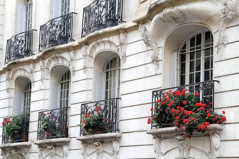 Parisian 16e balconies fine art paris photography travel image 0