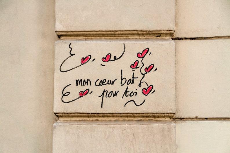 French saying façade pink Paris Valentine words sweet image 0