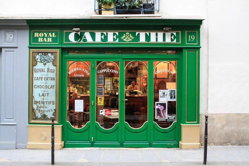 Café thé Paris fine art paris photography storefront image 0