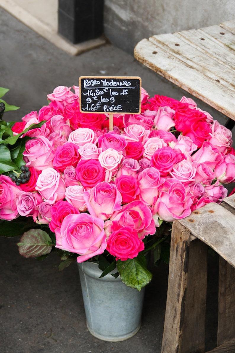 Paris flower photo fine art Paris photography image 0