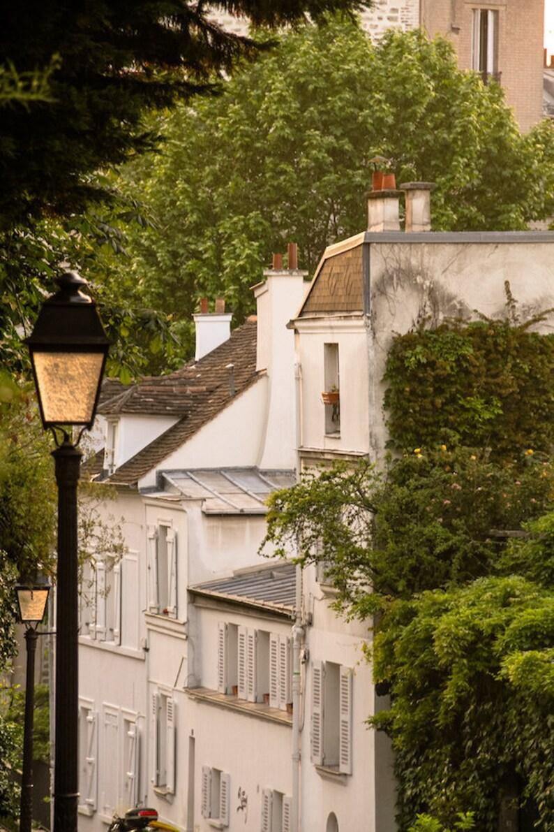 Montmartre Paris at sunset fine art Paris photography travel image 0