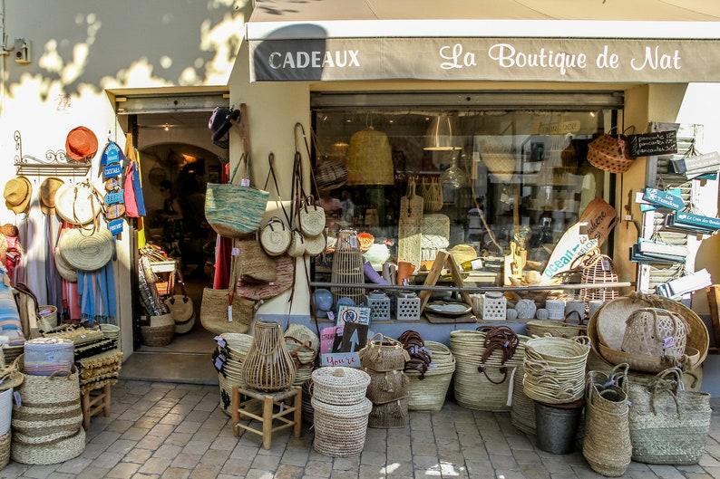 Provence basket shop south of France photo fine art france image 0