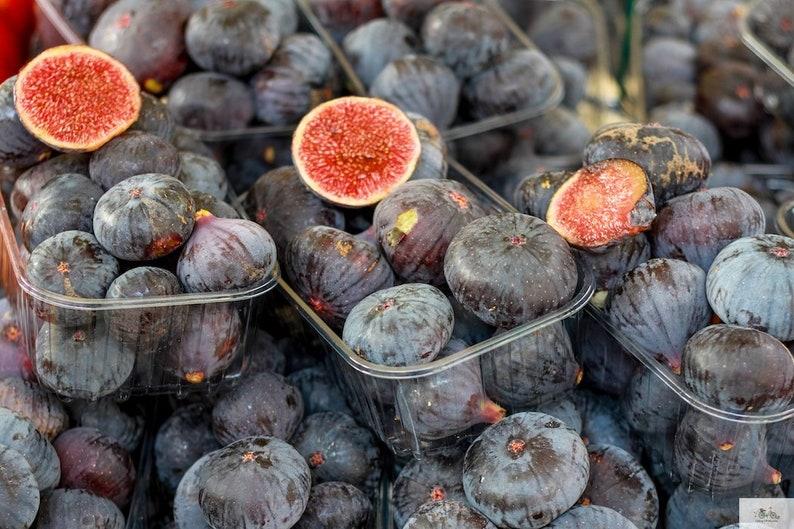 Fig food photo fine art food photograph farmer's market image 0