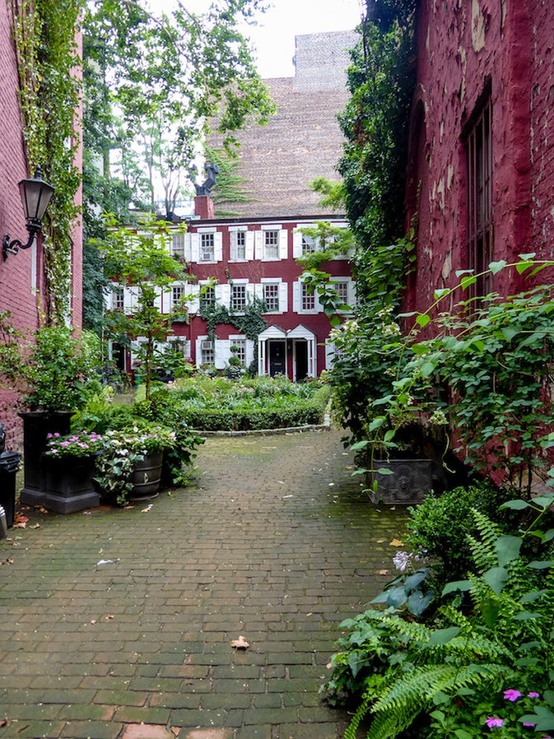 Grove Court New York City West Village photo fine art New image 0