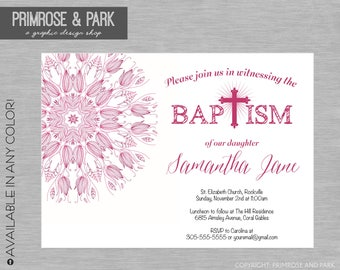 twin baptism invitations etsy