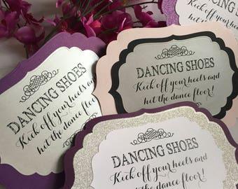 739c09640ca86 Flip Flop Basket Sign    Custom Order    Dancing Shoes    Dancing Socks     Personalized