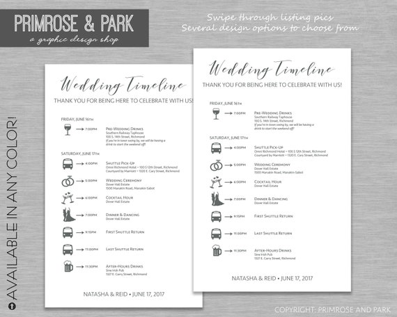 hotel welcome letter exles vrupgrade free checklist wedding timeline cards wedding weekend itinerary wedding 606