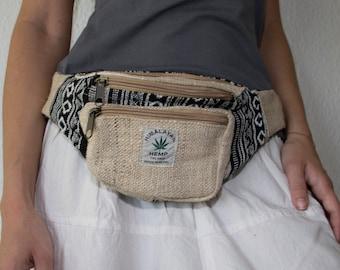 e631493acb11f1 Hemp Utility belt , Boho Fanny pack , Festival Money belt , Eco pouch for  Men , Momen