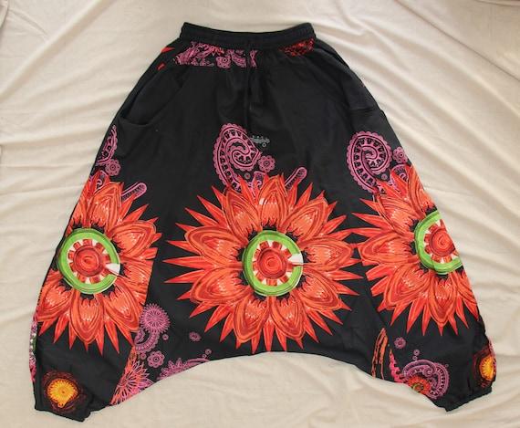 Boho harem broek vrouwen vrouwen Aladdin broeken Afghani broek Alibaba broek 100% katoen Plumhose aus feiner Baumwolle