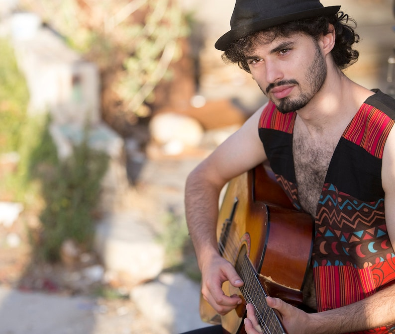 Patchwork Gypsy Vest