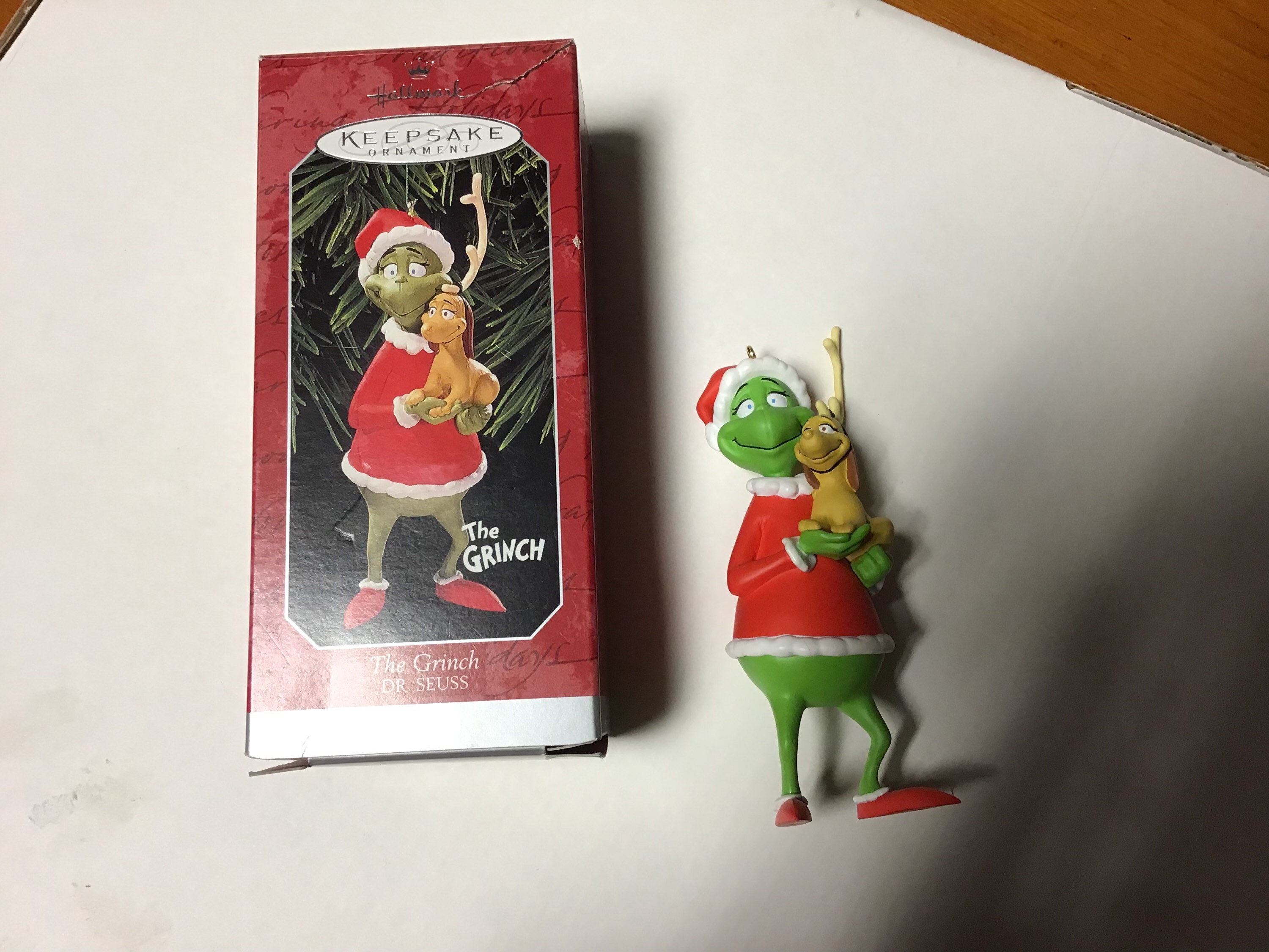 zoom Vintage Hallmark Dr Seuss The Grinch