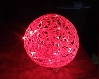 Fairy light ball, christmas, wedding, all occassion, girl gift, party decoration, ornament, fairy lights, centerpiece,light,lamp, table