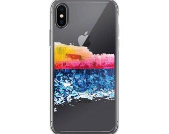 """Ocean """"goodnight"""" iPhone Case"""
