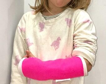 Fake arm cast, First aid felt plaster cast, broken arm bandage,medical kit