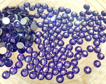 862265a5c Tanzanite Swarovski Elements Crystals Flatback Non-Hotfix - SS5 to SS20