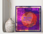 Red Rose Art, Downloadable Printable, Love Wall Art, Affirmations Wall Art, Words to Live By, Peaceful ul Transition,