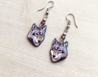 She Wolf Earrings
