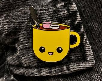 Happy Hot Cocoa Enamel Pin