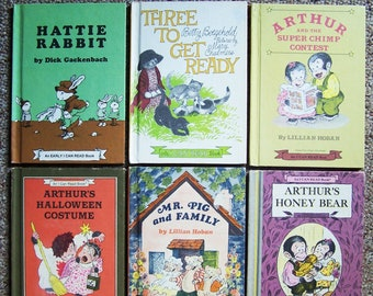 hattie rabbit three to get ready arthur mr pig and family mouse soup thunderhoff i can read book collection 10 childrens books
