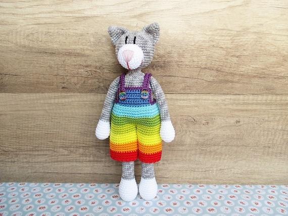 Häkelanleitung Kai Kater Crochet Pattern Amigurumi Cat Kitty