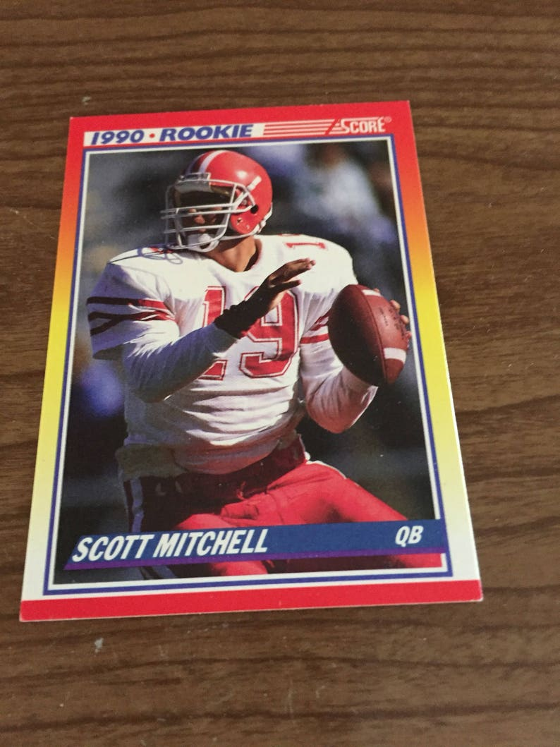 Vintage Football Cards Topps Score Retro Assorted Teams 30 Sports Memorabilia Rookie Card 1990 2000 Antique Discoveries