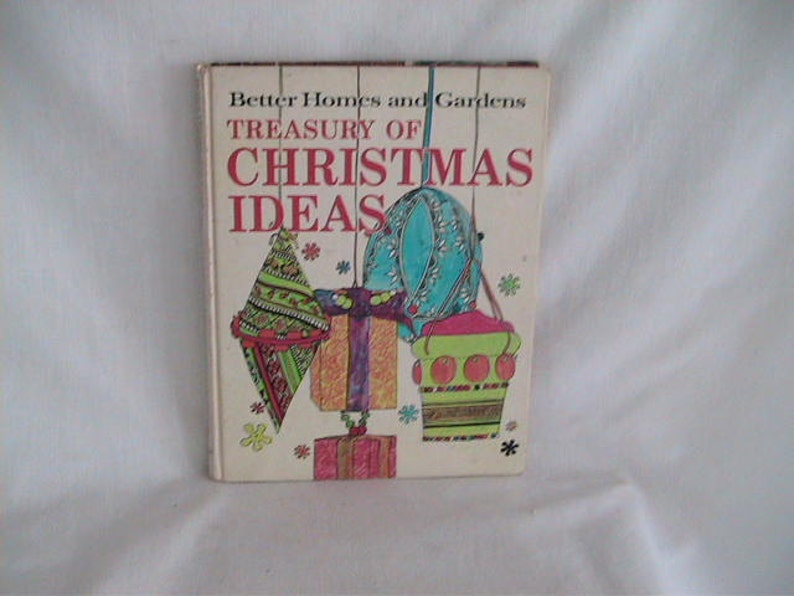 Books Vintage Christmas Craft Book How To Better Homes And Etsy