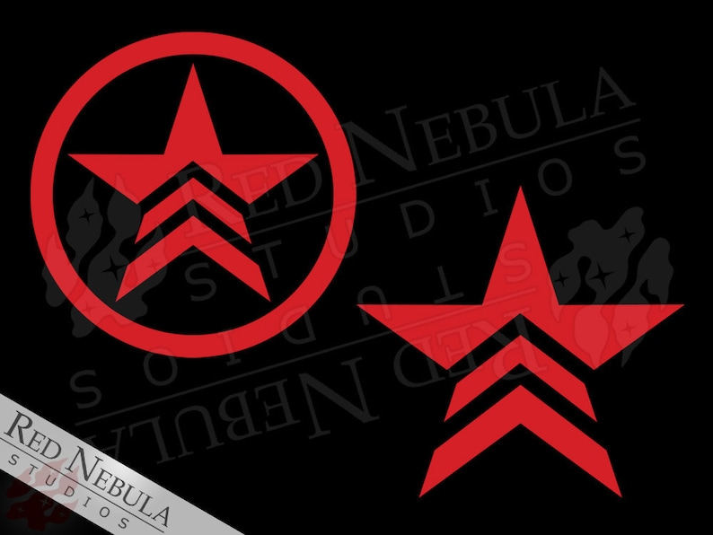 Renegade Vinyl Decal Mass Effect Decal Renegade Shepard Etsy