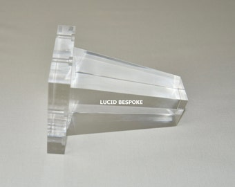 Lucite Table Legs   Etsy