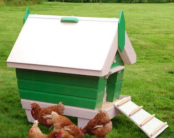 BeachHutchy 2-5 Chicken Coop Plans (pdf) INCHES/FEET
