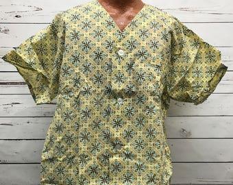 70's vintage grana mens pajama set