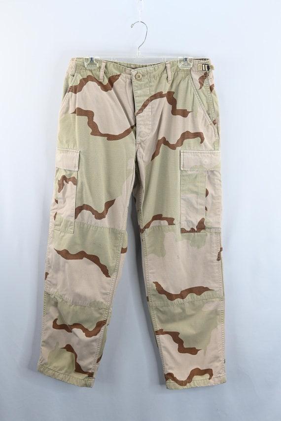 Size Medium XShort Combat Desert Camouflage Pants