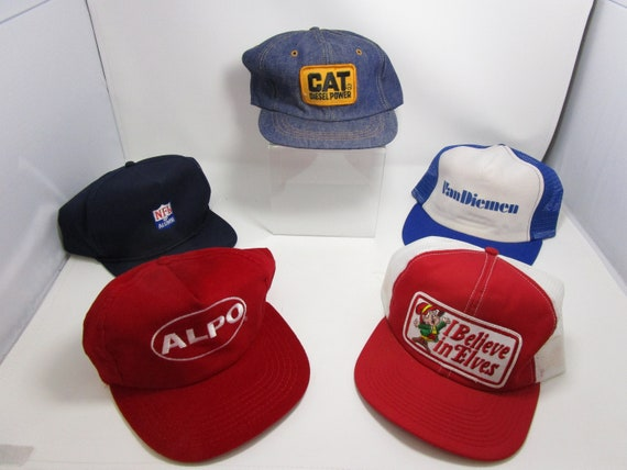 Vintage Snapbacks Lot of 5 One Size Assorted Truck
