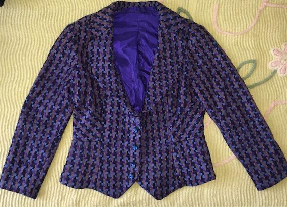 Vintage 40s 80s Tailored Jacket