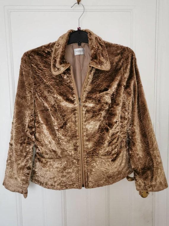 1990s Italian Velvet Jacket