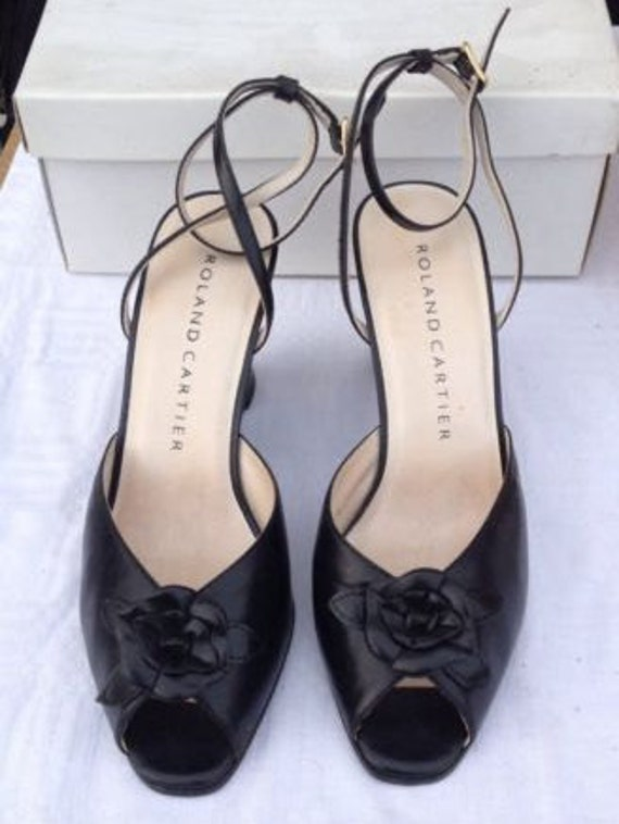Vintage Roland Cartier Wedge Shoes PIN UP