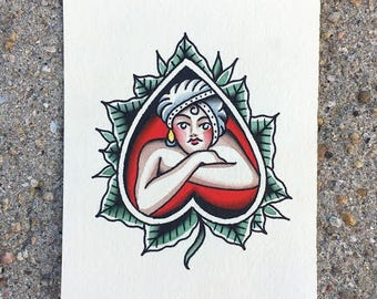 Lover Girl Painting
