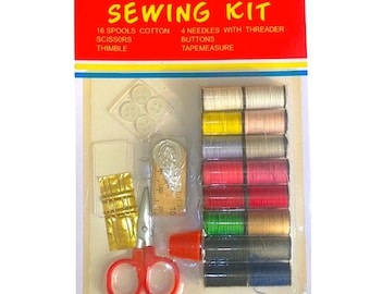 Travel Sewing Kit Carded Blister Pack - Large