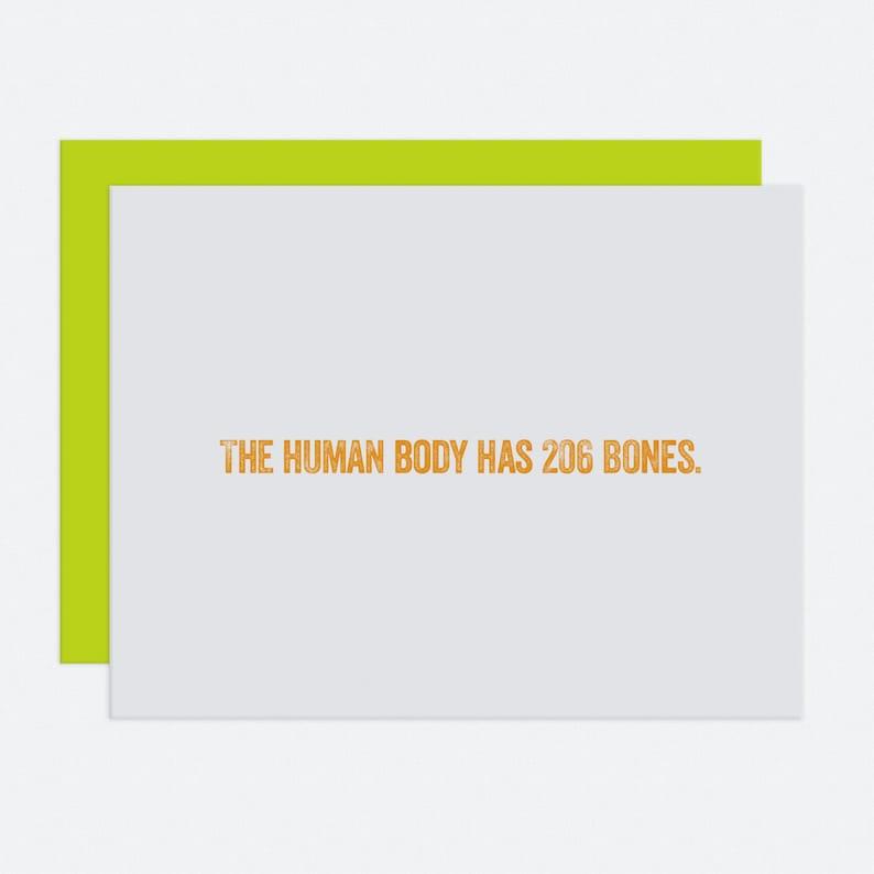 207 Bones  I Like You Card image 1