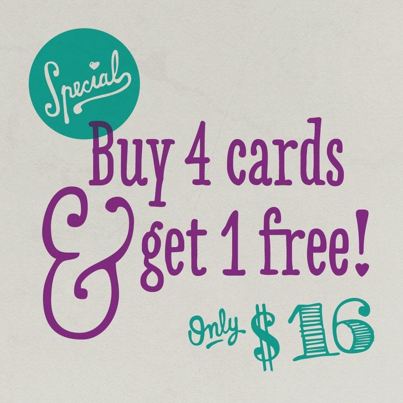 Buy 4 Get 1 Free image 1