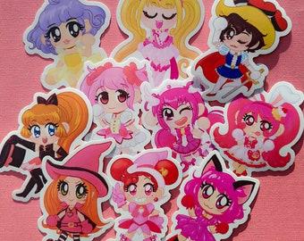 magical girl vinyl stickers