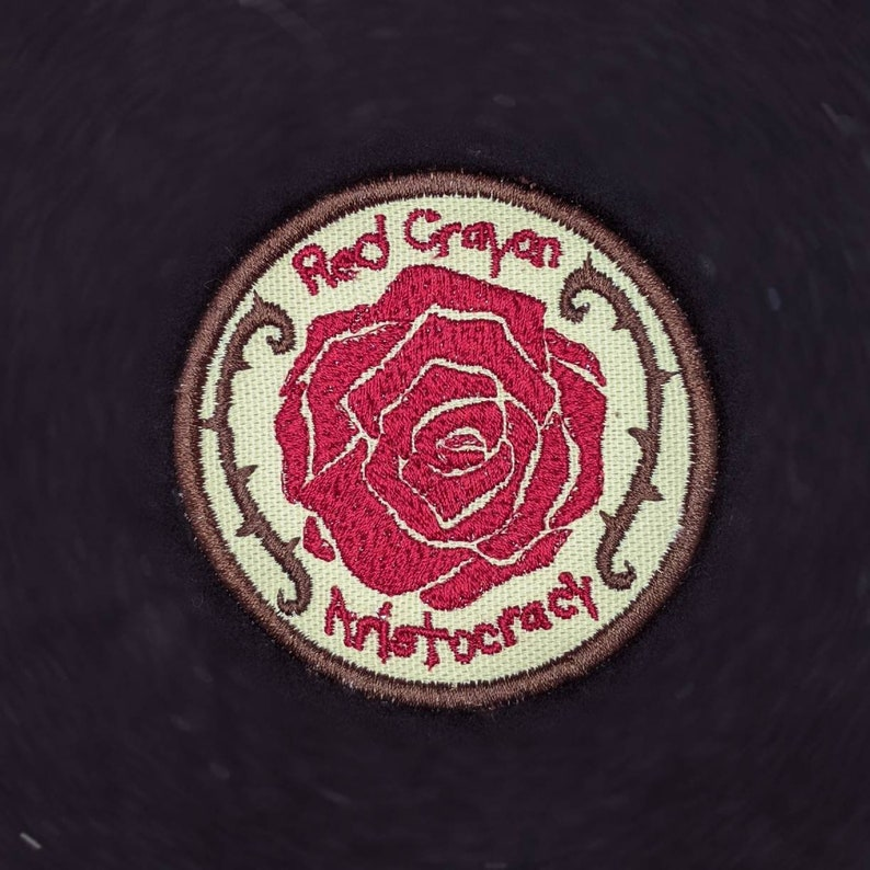 Rule of Rose iron-on patch image 0