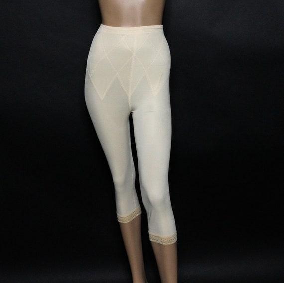 1960s Panty Girdle -  Long Girdle with Leg Gripper
