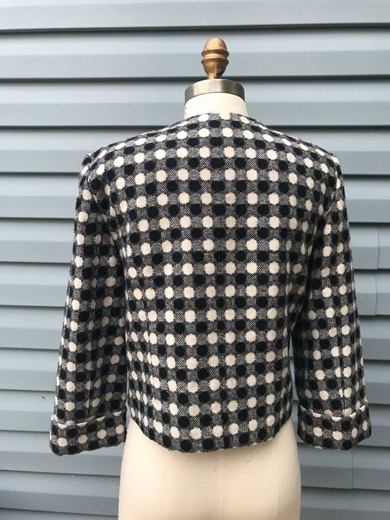 1960's Polka Dot Mod Jacket - image 4