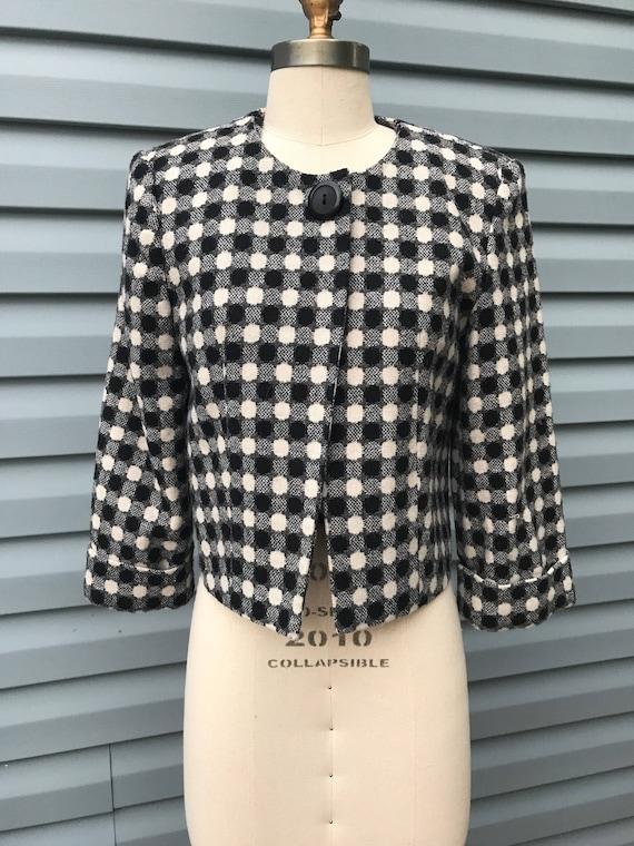 1960's Polka Dot Mod Jacket - image 1