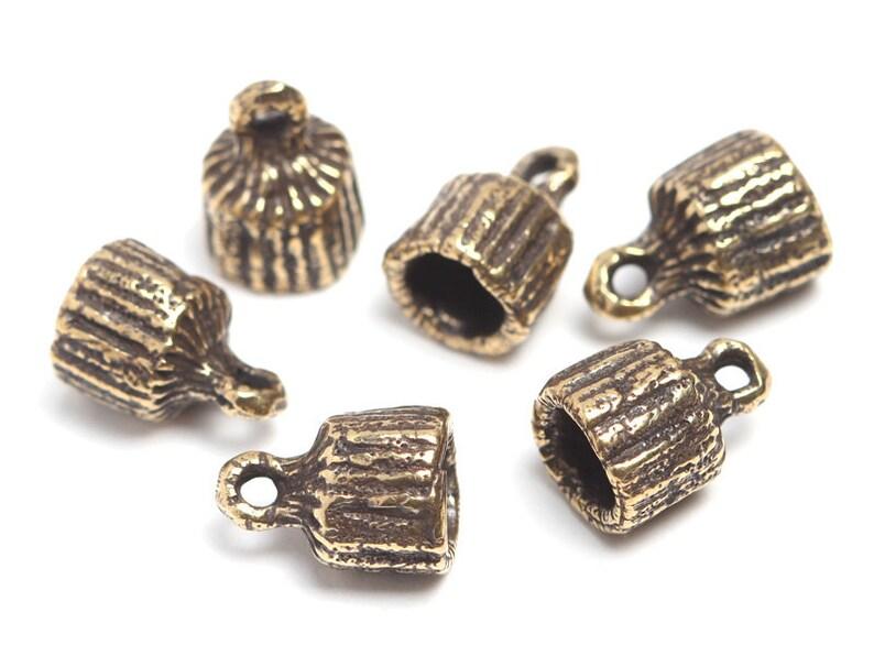 10pcs Cute Cactus Handmade Porcelain Beads Smooth Loose Beads Beading Craft 21mm
